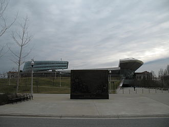 Burnham Park (Chicago) - The Veteran's Memorial at Soldier Field