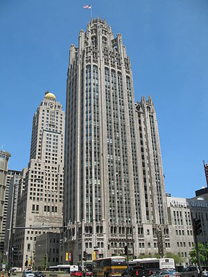 Grace Building, Sydney - The Tribune Tower in Chicago, Illinois heavily influenced the architecture of the Grace Building.