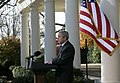20071203-Bush speech on budget Rose Garden.jpg