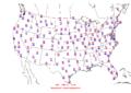 2008-06-06 Max-min Temperature Map NOAA.png
