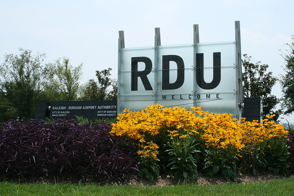 2008-07-30 RDU welcome sign