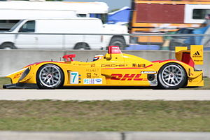 12 Hours of Sebring - 2008 overall winner Porsche RS Spyder.