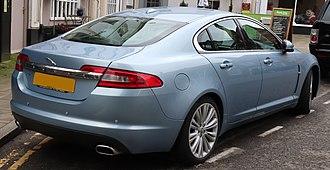 Jaguar XF (X250) - Pre-facelift Jaguar XF