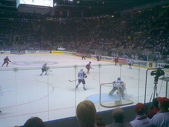 2011 IIHF World Championship - Match between Russia and Slovenia (Group A), 1 May 2011