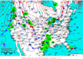 2012-02-10 Surface Weather Map NOAA.png