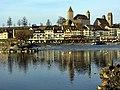 2012 'Seegfrörni' - Zürichsee - Rapperswil Hafen - Seedamm 2012-02-18 16-50-17 (SX230).JPG