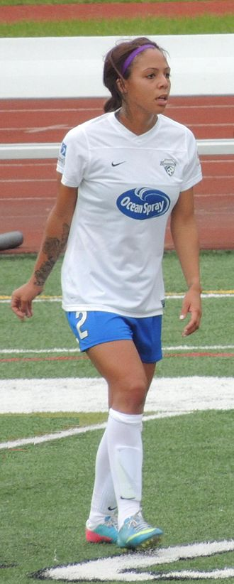 Sydney Leroux - Sydney Leroux; on June 9, 2013, in Chicago Red Stars vs Boston Breakers