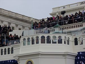 Prayers at United States presidential inaugurations - Reverend Luis Leon delivering the benediction at the 2013 Presidential Inauguration