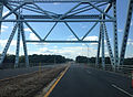 2014-08-28 14 21 28 View west crossing the Castleton Bridge over the Hudson River.JPG