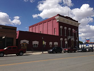 Eureka County, Nevada - Image: 2014 09 09 13 11 16 The Eureka County Court House on U.S. Route 50 in Eureka, Nevada
