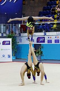 Julie Van Gelder Belgian gymnast