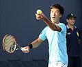 2014 US Open (Tennis) - Qualifying Rounds - Yuichi Sugita (15010381076).jpg