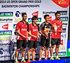 2014 US Open Grand Prix Gold - Mixed doubles podium.jpg