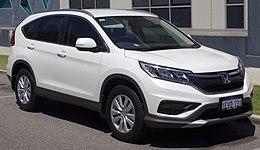 2015 Honda CR-V (RM Series II MY16) VTi 2.0 2WD wagon (2017-01-22) 01.jpg