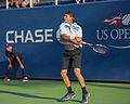 2015 US Open Tennis - Qualies - Jose Hernandez-Fernandez (DOM) def. Jonathan Eysseric (FRA) (20343163584).jpg