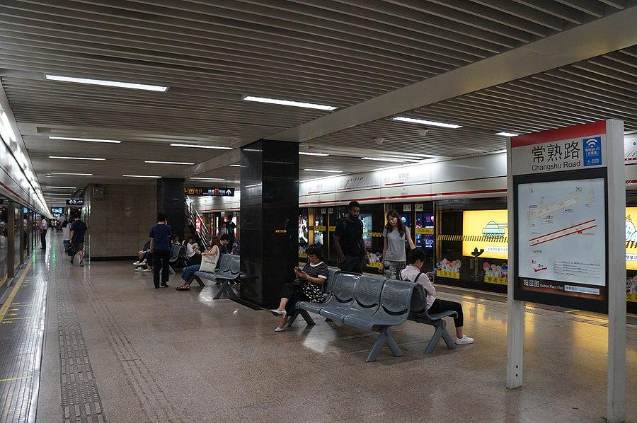 Changshu Road station