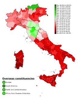"""referendum in order to approve the so-called """"Renzi-Boschi constitutional reform"""""""