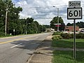 2017-07-24 16 46 43 View south along West Virginia State Route 601 (Jefferson Road) at U.S. Route 60 (MacCorkle Avenue) in South Charleston, Kanawha County, West Virginia.jpg