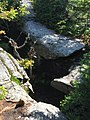 2017-09-11 11 22 52 Large crag along the Maple Ridge Trail at about 3,360 feet above sea level on the western slopes of Mount Mansfield within Mount Mansfield State Forest in Stowe, Lamoille County, Vermont.jpg