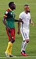 2017 Confederation Cup - CMRCHI - Michael Ngadeu-Ngadjui and Arturo Vidal.jpg