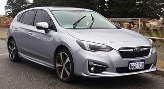 Subaru Impreza Model of compact car