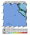 2018-10-22 Port Hardy, Canada M6.6 earthquake shakemap (USGS).jpg