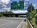 2019-06-14 13 00 33 View east along the Inner Loop of the Baltimore Beltway (Interstate 695) at Exit 32B (NORTH U.S. Route 1-Belair Road, Bel Air) in Overlea, Baltimore County, Maryland.jpg