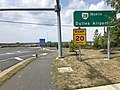 2019-08-07 12 07 07 View south along U.S. Route 29 (Lee Highway) at the exit for Virginia State Route 28 NORTH (Dulles Airport) in Centreville, Fairfax County, Virginia.jpg