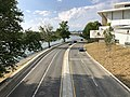 2019-09-12 16 31 25 View north along the Rock Creek and Potomac Parkway from the pedestrian overpass at the Kennedy Center in Washington, D.C..jpg