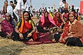 2019 Jan 14 - Kumbh Mela - Ladies at Yamuna Banks.jpg