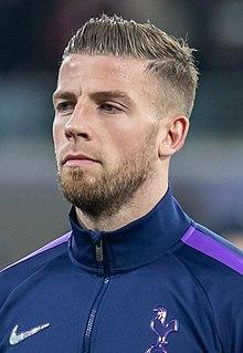Toby Alderweireld Belgian association football player