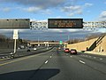 """2020-12-25 15 22 36 Variable message sign reading """"Give the Gift of Good Health - Stay Home"""" along northbound Interstate 95 (J.F.K. Memorial Highway) south of exit 64 in Rosedale, Baltimore County, Maryland.jpg"""