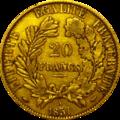 20 franc cérès 1851 Revers.png