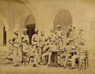 21st Punjabis - Image: 21st Punjab Regiment 1866 (PRC)