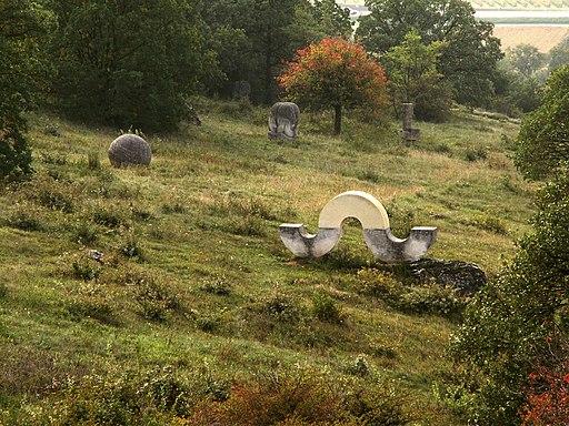 Skulpturen im Römersteinbruch Sankt Margarethen (Burgenland).