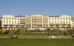 Grade II* listed buildings in Brighton and Hove - Image: 26–37 Regency Square, Brighton (Io E Code 481129)