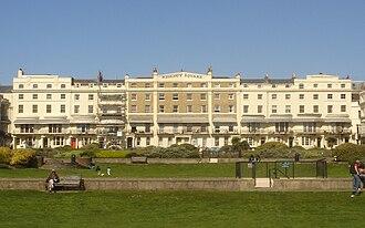 Grade II* listed buildings in Brighton and Hove - Image: 26–37 Regency Square, Brighton (Io E Code 481129)