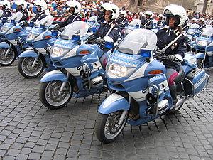 Polizia Stradale - Polizia Stradale BMW 850's
