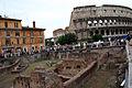 3005 - Roma - Ludus Magnus e Colosseo - Foto Giovanni Dall'Orto 16-June-2007.jpg