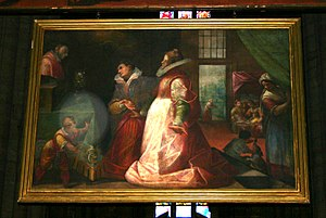 Quadroni of St. Charles - Image: 3227 Milano, Duomo Il Duchino Miracolo di Marina Ferraro (1610) Foto Giovanni Dall'Orto, 6 Dec 2007