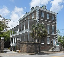 Christopher Gadsden Built The Three Story House At 329 East Bay Street In 1798