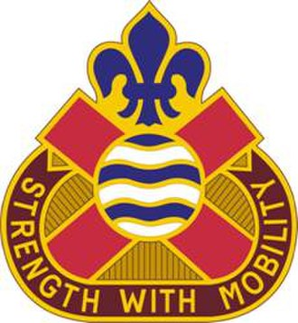143rd Sustainment Command (Expeditionary) - Image: 375 Spt Bn DUI