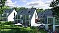 3D Architekturvisualisierung Doppelhaushälften mit Giebeldach 1920x1080.jpg