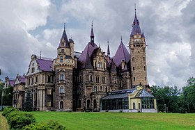 Moszna Castle, local attraction