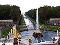 4167. Peterhof. Alley of fountains.jpg