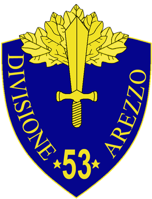53rd Infantry Division Arezzo - 53rd Infantry Division Arezzo Insignia