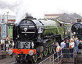 60163 Tornado at Tyseley Locomotive Works Tyseley 101 Gala 28 June 2009 pic 3.jpg