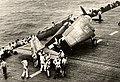 80-G-291044 - 29 October 1944 launch of VF-18 Hellcat from USS Intrepid.jpg