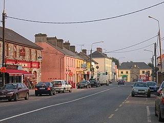 Edgeworthstown Town in Leinster, Ireland