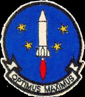 864th Bombardment Squadron - 864th Strategic Missile Squadron emblem